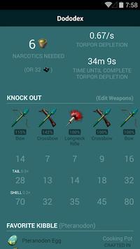 Dododex: Ark Survival Evolved APK screenshot 1