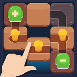 Rolling in the dark: Roll Ball - Block Puzzle icon