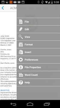 Docs To Go™ Free Office Suite APK screenshot 1