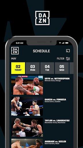 DAZN: Live Sports Streaming APK screenshot 1