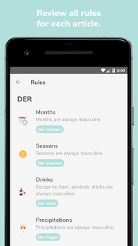 Der Die Das - Learn German Articles and Vocabulary APK screenshot 1
