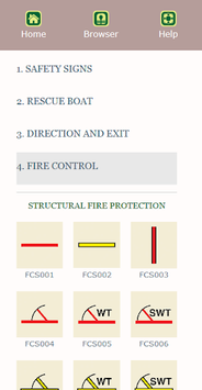 Marine Safety Signs APK screenshot 1