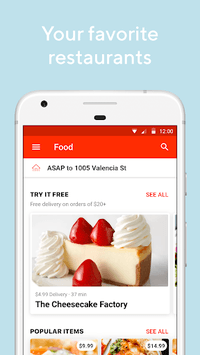 DoorDash - Food Delivery APK screenshot 1