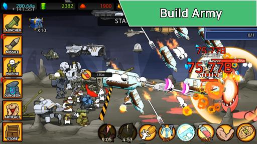 Missile Dude RPG: Tap Tap Missile APK screenshot 1