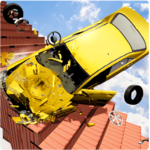 Beamng Drive Death Stair Car Speed Crash icon