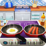 Virtual Chef Breakfast Maker 3D: Food Cooking Game icon