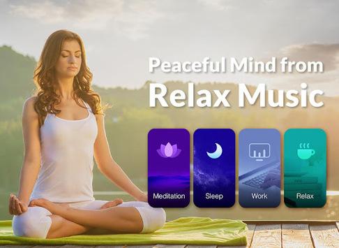 Relax Music - Meditation& Sleep Music, White Noise APK screenshot 1