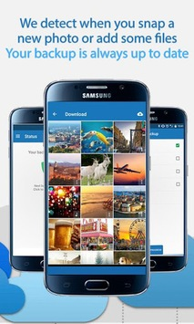 100 GB Free - Degoo Cloud Drive APK screenshot 1