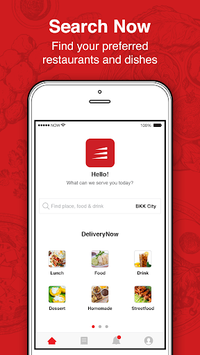 Now - Food Delivery APK screenshot 1