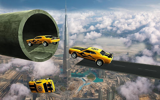 Racing Car Stunts On Impossible Tracks APK screenshot 1