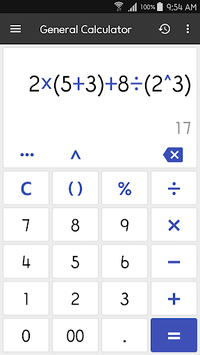 ClevCalc - Calculator APK screenshot 1