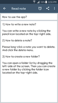 ClevNote - Notepad, Checklist APK screenshot 1
