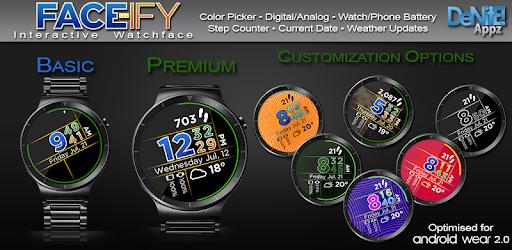 FACE-ify HD Watch Face Widget & Live Wallpaper pc screenshot