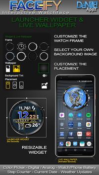 FACE-ify HD Watch Face Widget & Live Wallpaper APK screenshot 1