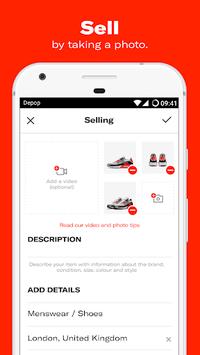 Depop - Shop. Clothing. Sneakers. Streetwear. APK screenshot 1