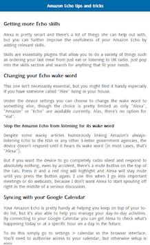 User Guide for Amazon Echo APK screenshot 1