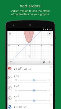 Desmos Graphing Calculator APK screenshot 1