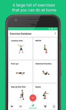 7-Minute Workouts -Daily Fitness with No Equipment APK screenshot 1