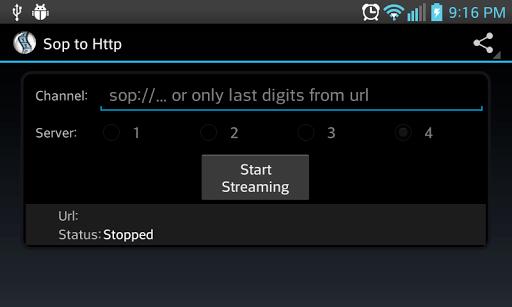 Sop to Http APK screenshot 1