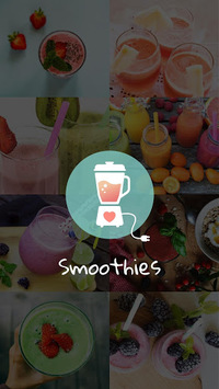 Smoothies: Healthy Recipes APK screenshot 1