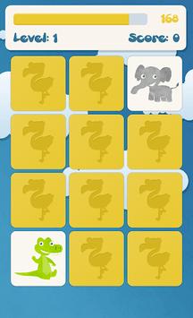 Animals memory game for kids APK screenshot 1
