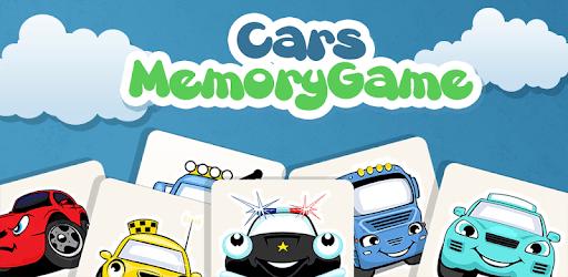 Cars memory game for kids pc screenshot