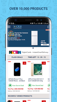 Xcite Online Shopping App   اكسايت للتسوق اونلاين APK screenshot 1