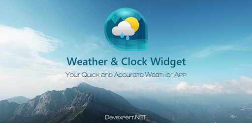 Weather & Clock Widget for Android pc screenshot