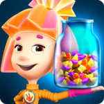 Fixiki Cake Bakery Story & Chocolate Factory Games icon