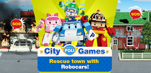Use robocar poli games rescue town and city games pc on windows with android emulator - Robocar poli ambre ...