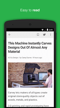 Feedly - Smarter News Reader APK screenshot 1