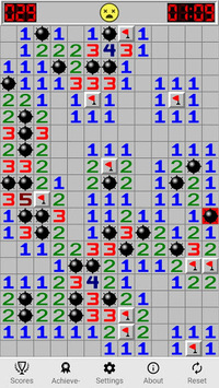 Minesweeping (free) - classic minesweeper game. APK screenshot 1