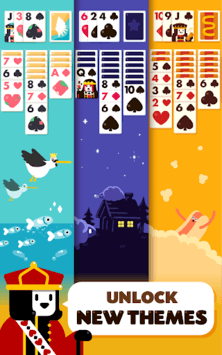 Solitaire: Decked Out Ad Free APK screenshot 1