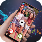 Friendship Video Ringtone for Incoming Call icon