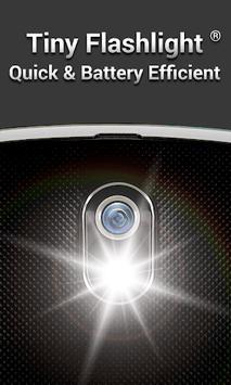 Tiny Flashlight + LED APK screenshot 1