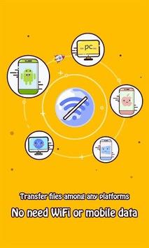 Zapya - File Transfer, Sharing APK screenshot 1