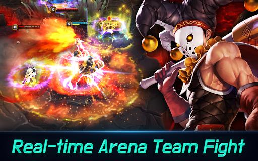 Iron League - Real-time Global Teamfight APK screenshot 1