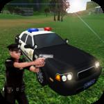 Police Car Gangster Chase - Vegas Crime Escape Sim icon