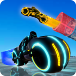 Tron Bike Stunt Racing 3d Stunt Bike Racing Games icon