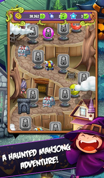 Mahjong Mystery: Escape The Spooky Mansion APK screenshot 1