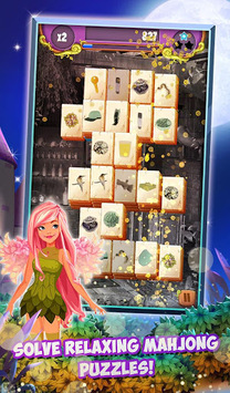 Mahjong Solitaire: Moonlight Magic APK screenshot 1