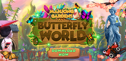Mahjong Gardens: Butterfly World pc screenshot