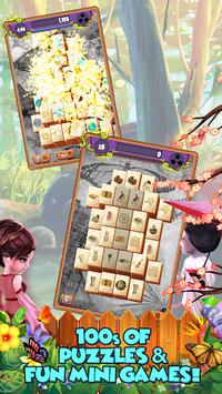 Mahjong Gardens: Butterfly World APK screenshot 1