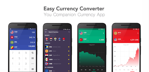 Currency Easy Converter - Real-Time Exchange Rates pc screenshot