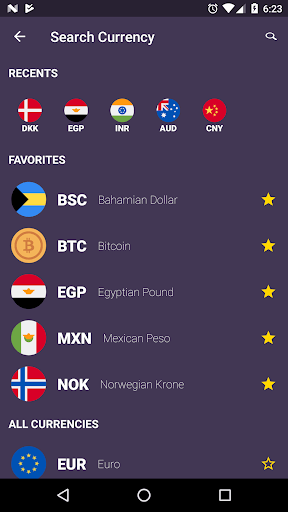 Currency Easy Converter - Real-Time Exchange Rates APK screenshot 1