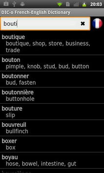 French - English offline dict. APK screenshot 1