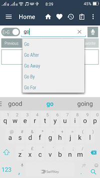 English Gujarati Dictionary APK screenshot 1