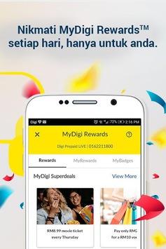 MyDigi APK screenshot 1