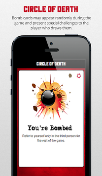 Circle of Death Drinking Game APK screenshot 1