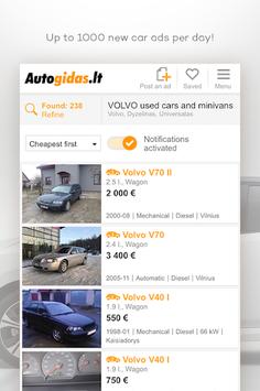 Autogidas.lt APK screenshot 1